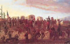 Mormon Battalion Painting by Geo Ottinger