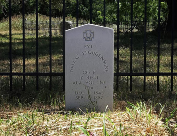 Dallas Stoudenmire's Grave