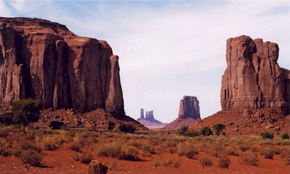 Monument Valley from The Searchers