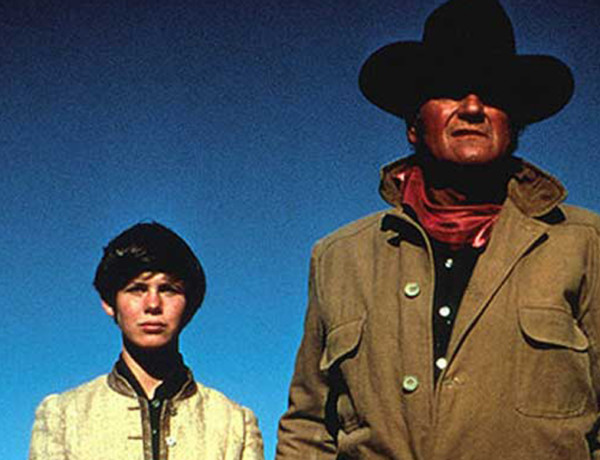 Kim Darby and John Wayne in True Grit True West