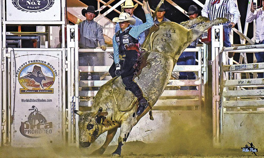 Grand Canyon State True West Magazine Prescott Frontier Days Rodeo