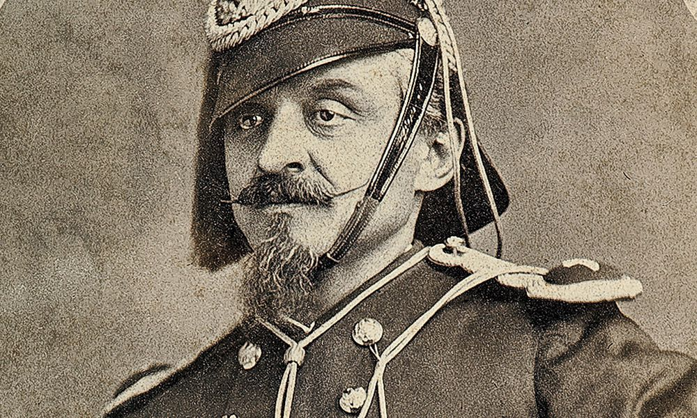 Charles DeRudio George Armstrong Custer True West Magazine