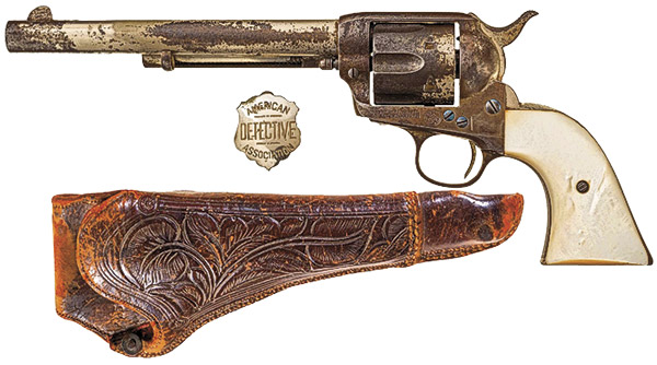 private eye cowboy laney thomas cathey true west magazine gun auction