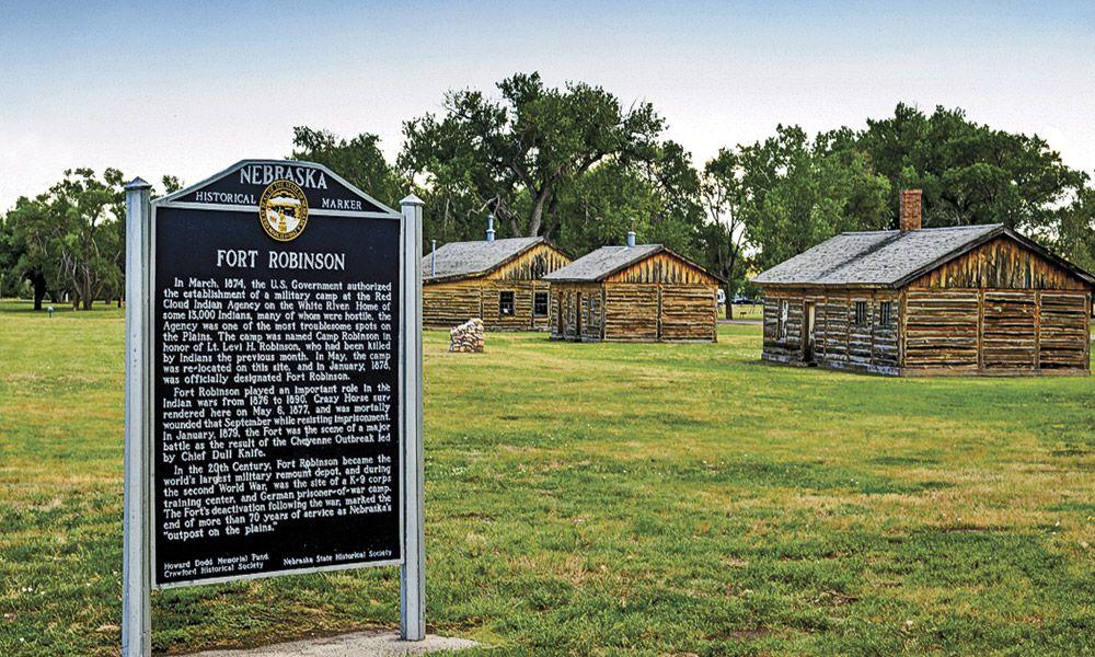 Fort Robinson State Park Nebraska True West Magazine
