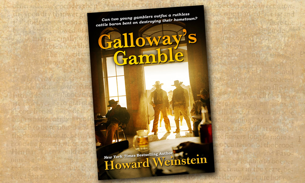 Galloways Gamble Western Novel Howard Weinstein