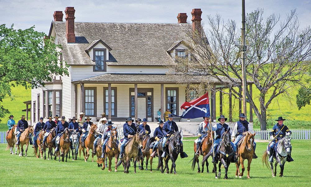 Custers Gold True West Magazine Fort Abraham Lincoln Historic State Park