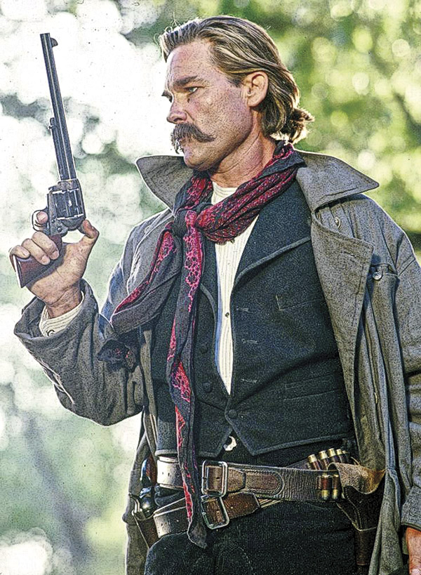 Nicholas Earp Tombstone True West Magazine Kurt Russell