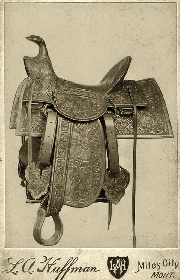 Monkey Buffalo Bill True West Magazine Saddle