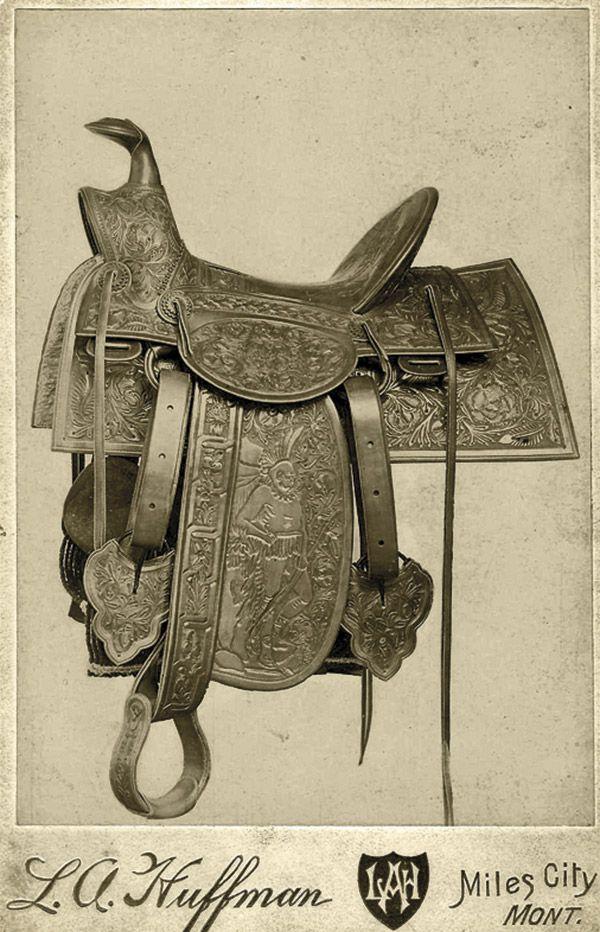 Monkey Buffalo Bill True West Magazine Saddle