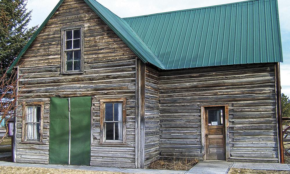 Owen Wister Wyoming Cabin