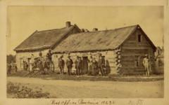 Pembina Post Office, 1863 True West