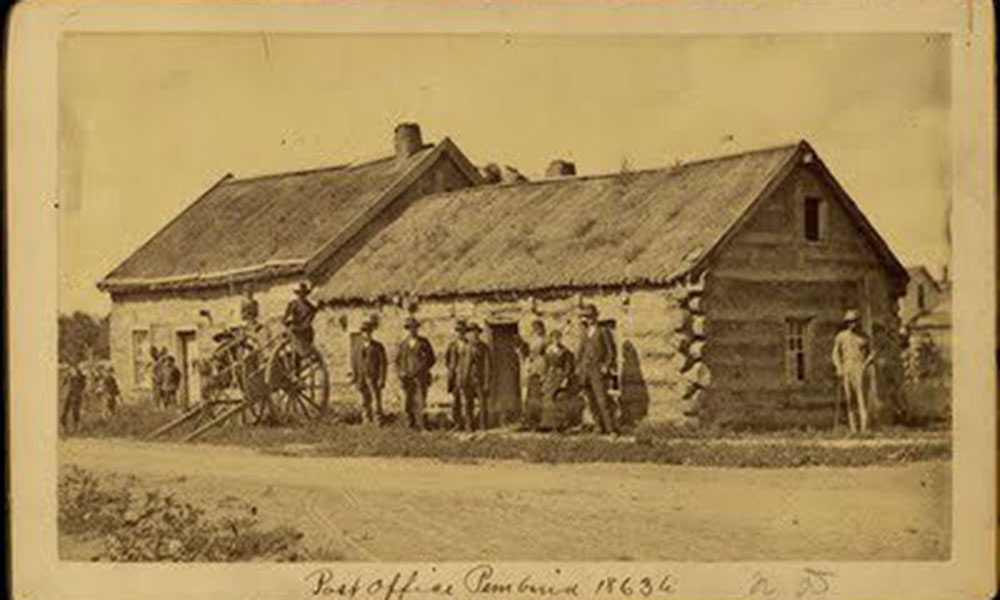 Pembina Post Office, 1863 True West