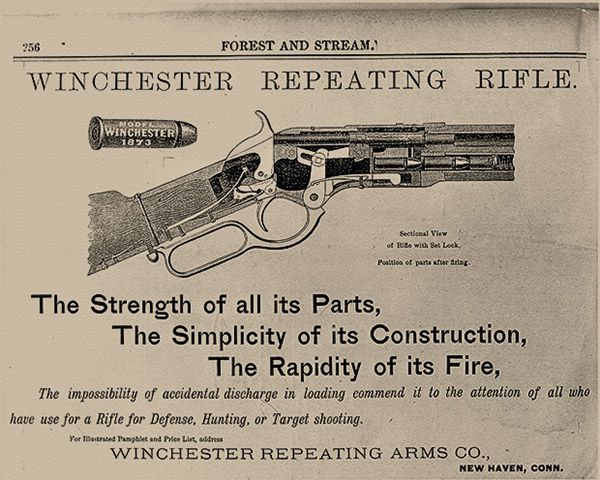 Winchester Gun Firearms True West Magazine