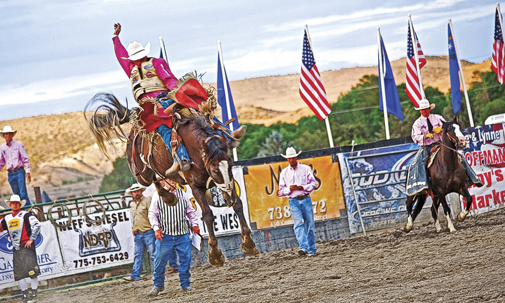 Nevada's Silver Stampede Rodeo Elko True West Magazine