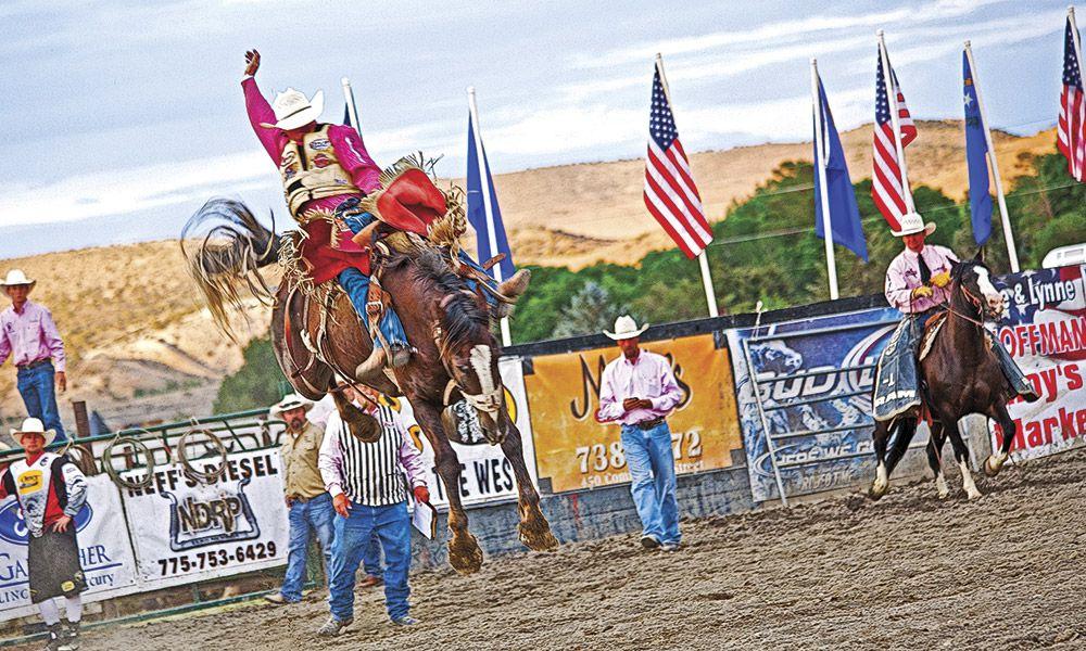 Nevada's Silver Stampede Rodeo Elko True West Magazine