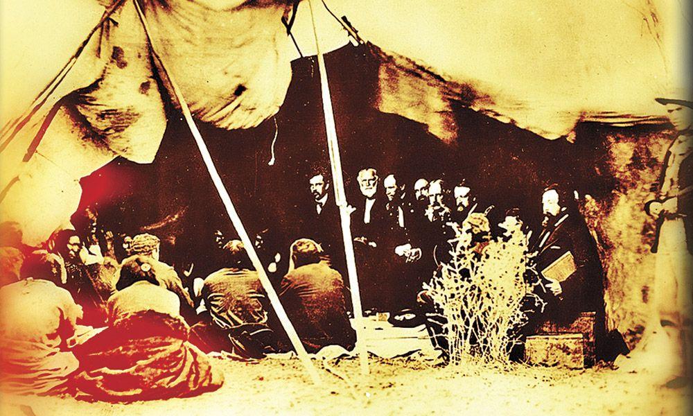 Powder River Country Indians War True West Magazine Treaty