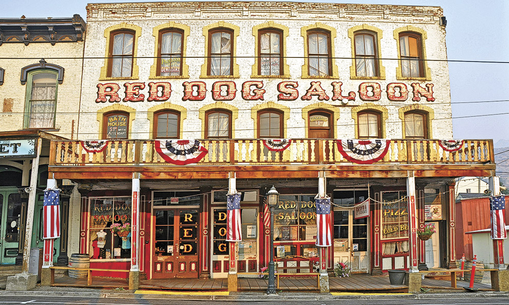 Nevada's Red Dog Saloon True West Magazine