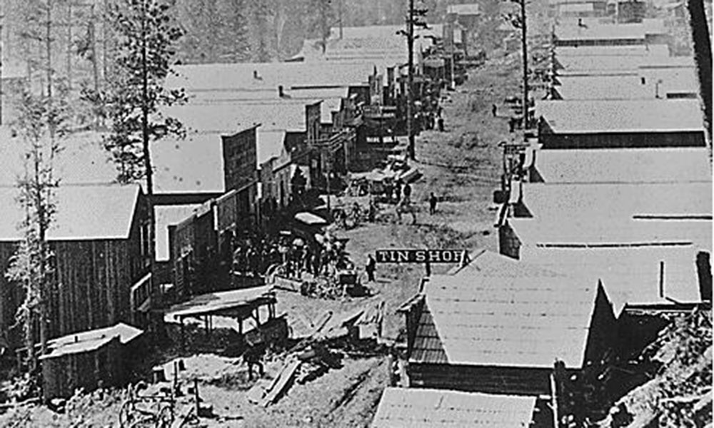 california gold rush town