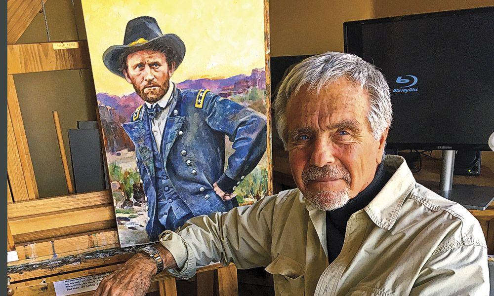 Allen Polt Artist True West Magazine