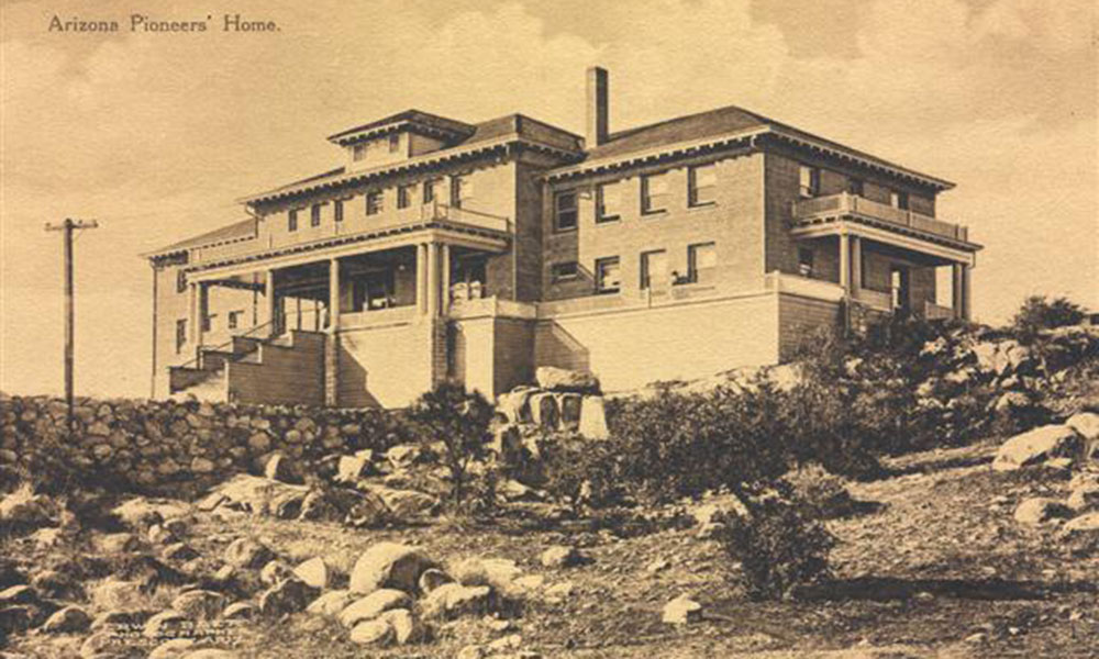 photograph arizona pioneers home circa 1912