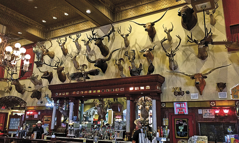 History Heritage Hospitality True West Magazine Buckhorn Saloon Museum