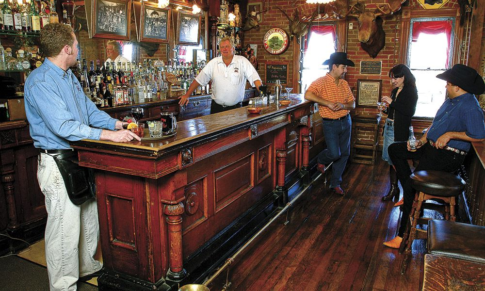 History Heritage Hospitality True West Magazine Buckhorn Exchange Restaurant