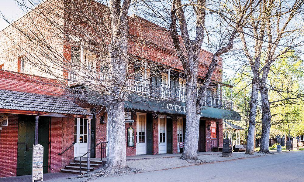 History Heritage Hospitality True West Magazine Fallon Hotel