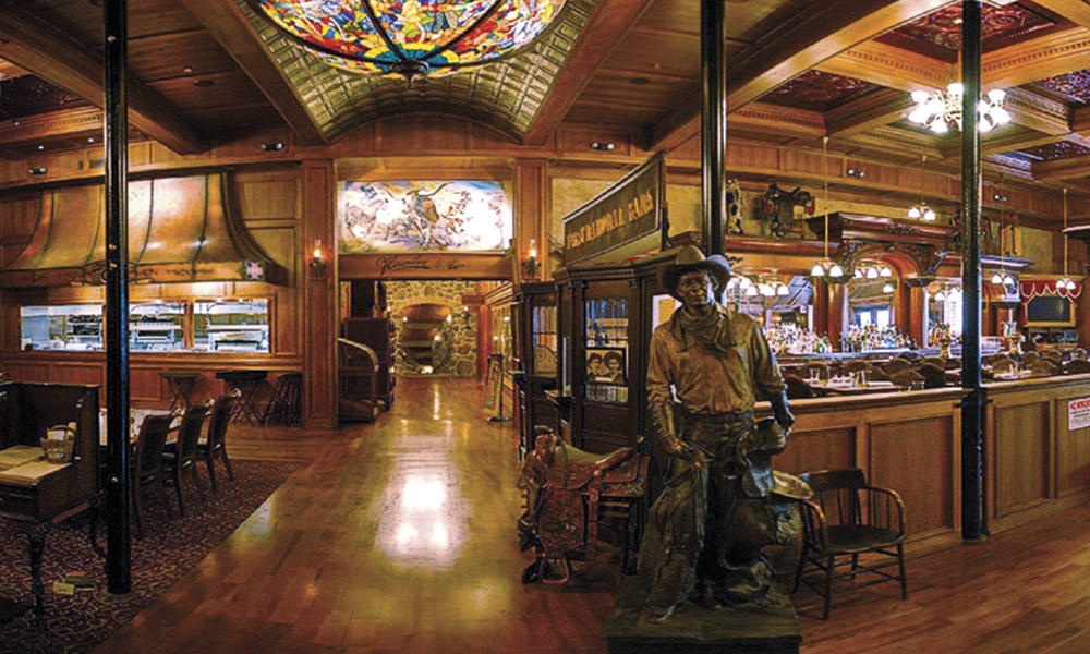 History Heritage Hospitality True West Magazine Hamley Steakhouse