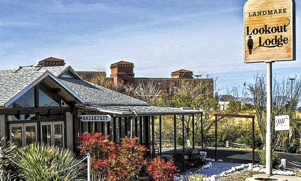 History Heritage Hospitality True West Magazine Lookout Lodge