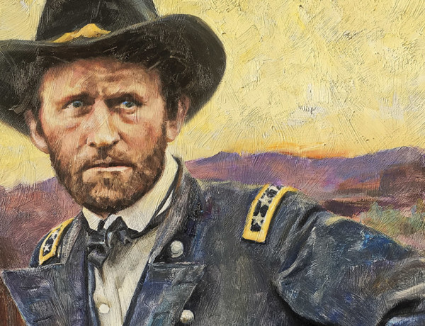 allen polt painting of ulysses s grant
