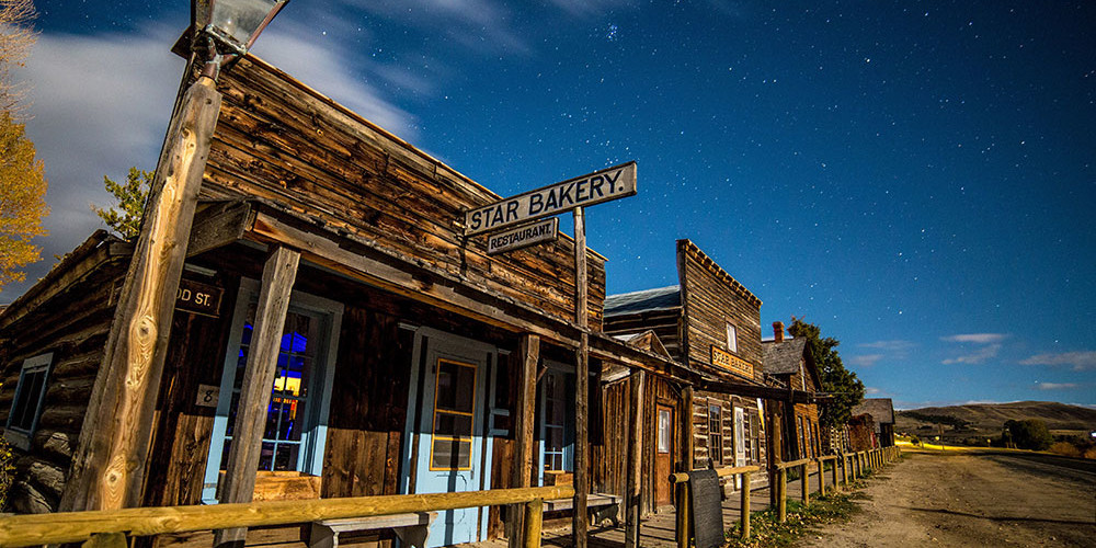 ghost town front southwest montana