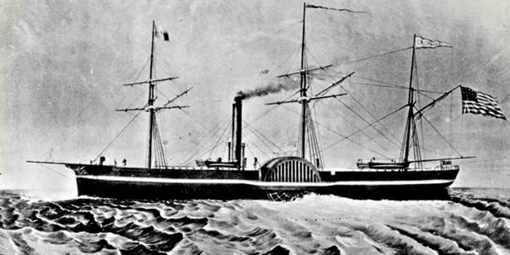 ss california ship illustration