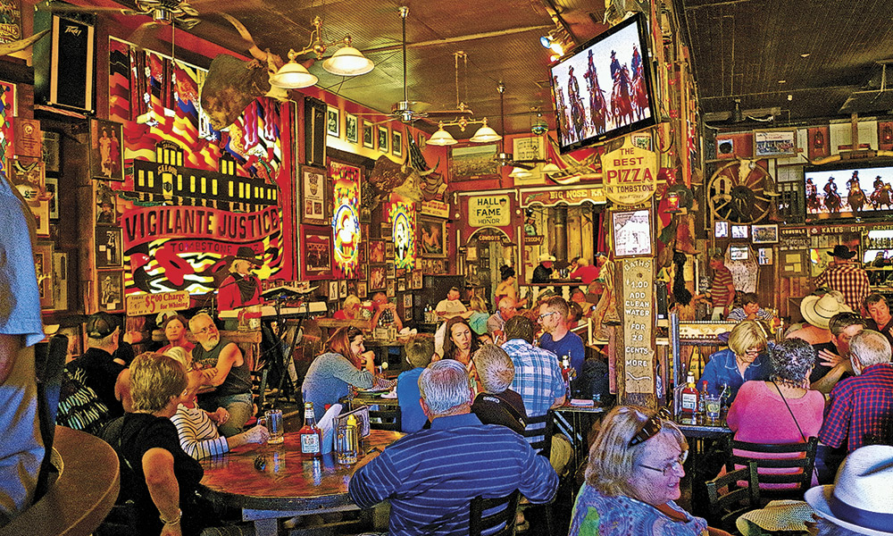 History Heritage Hospitality True West Magazine Big Nose Kate's Saloon