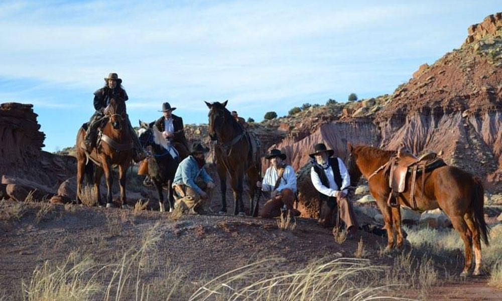 cowboys horses tucumcari rawhide days