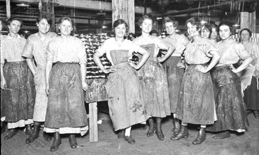 women packers chicago stockyards