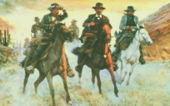 painting earps vendetta cowboys riding by bud bradshaw