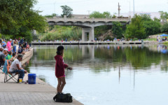 girl fishing concho river san angelo texas