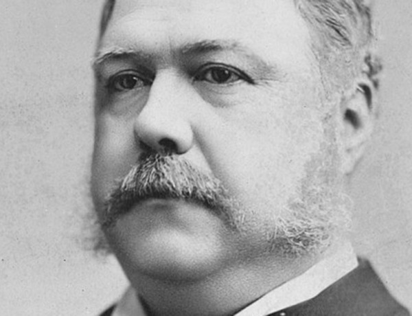 photo us president chester arthur