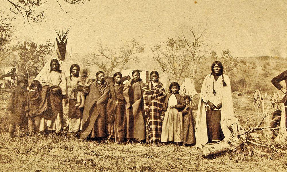 Custer Hostages True West Magazine