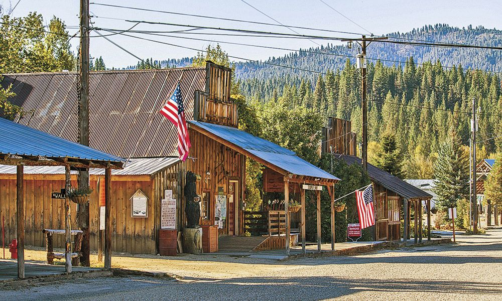 Idaho City Western Towns True West Magazine