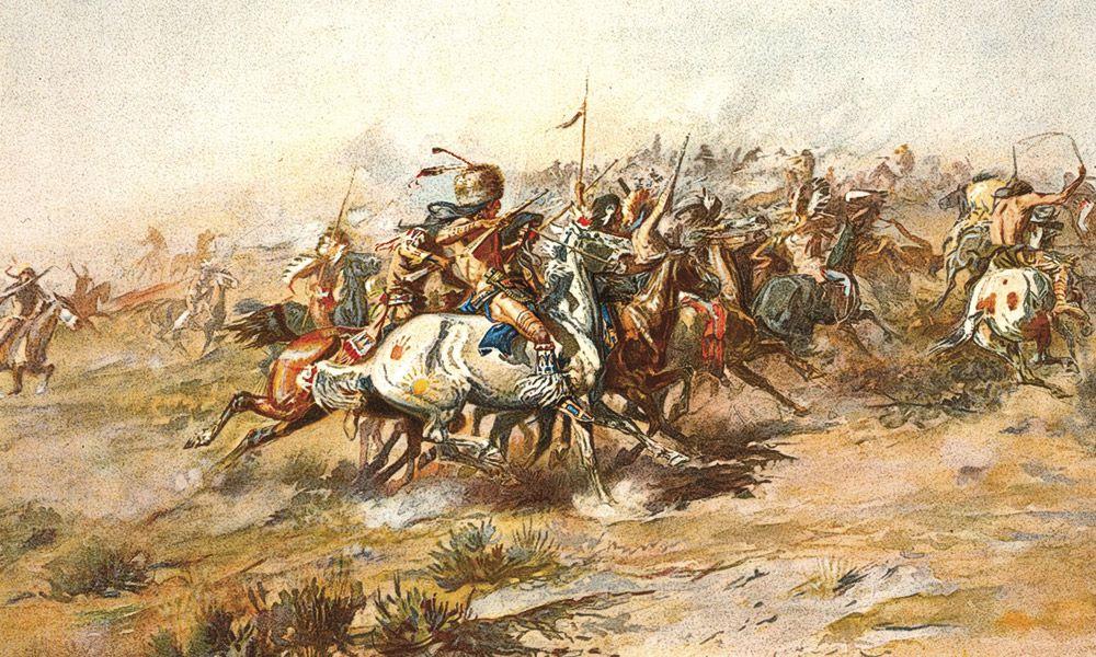 John Martin George Custer Battle Little Big Horn True West Magazine
