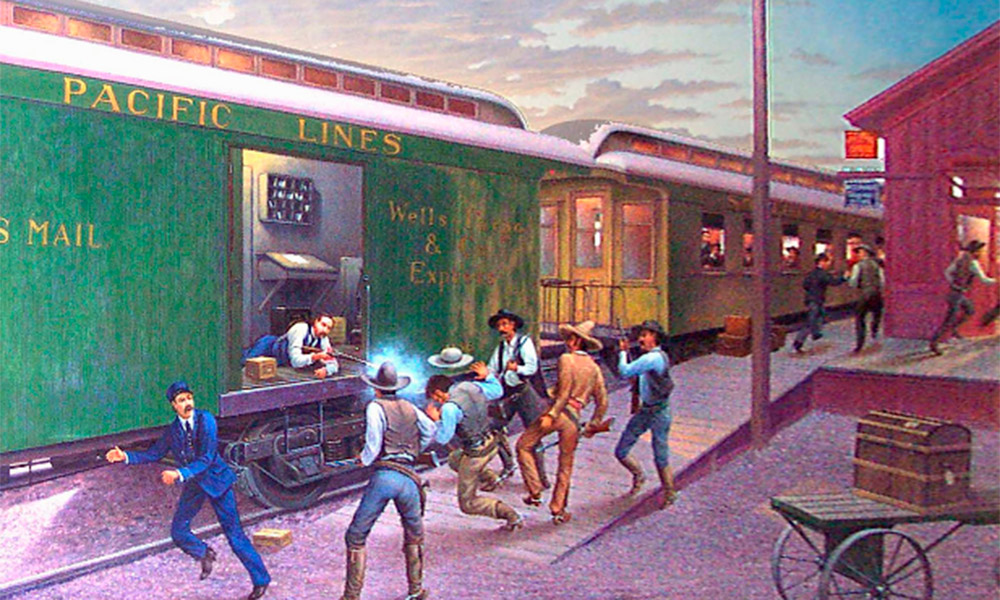 Fairbank Train Robbery True West Magazine