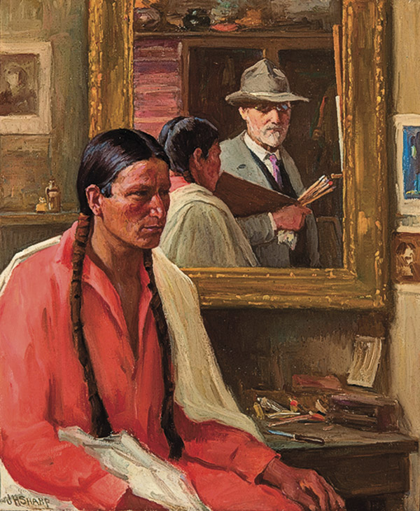 four bears old west artists true west magazine