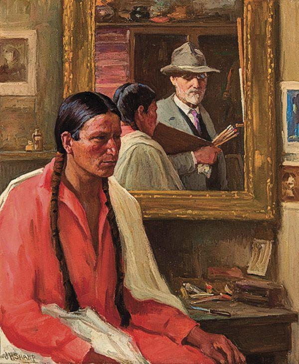 four bears old west artists true west magazine