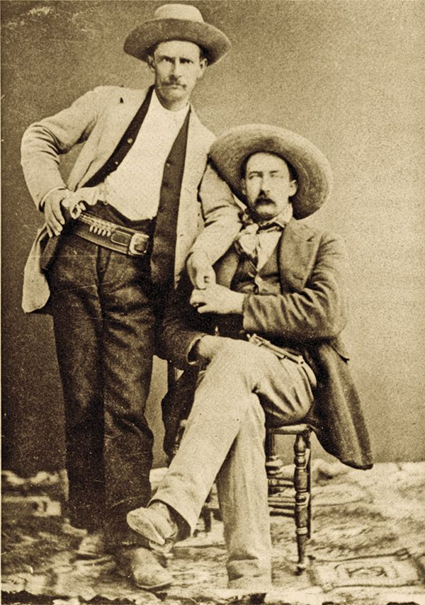 Dallas Stoudenmire George Campbell True West Magazine