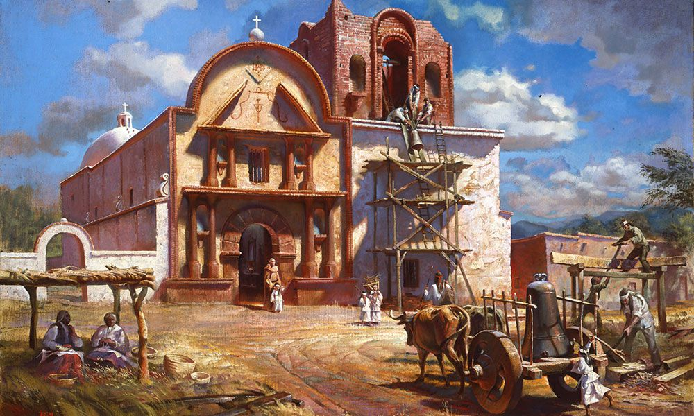 Tubac Spanish Colonial Frontier True West Magazine
