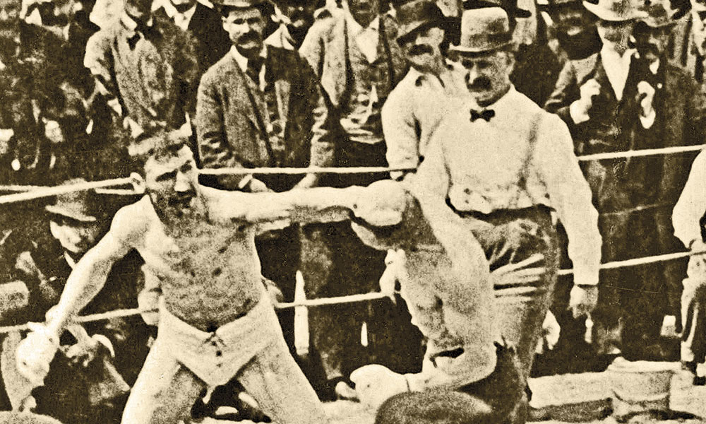 1894 fight Smith-Lewis boxing match true west magazine