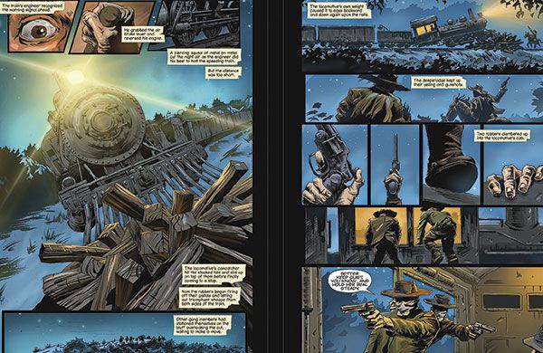 graphic novel true west magazine