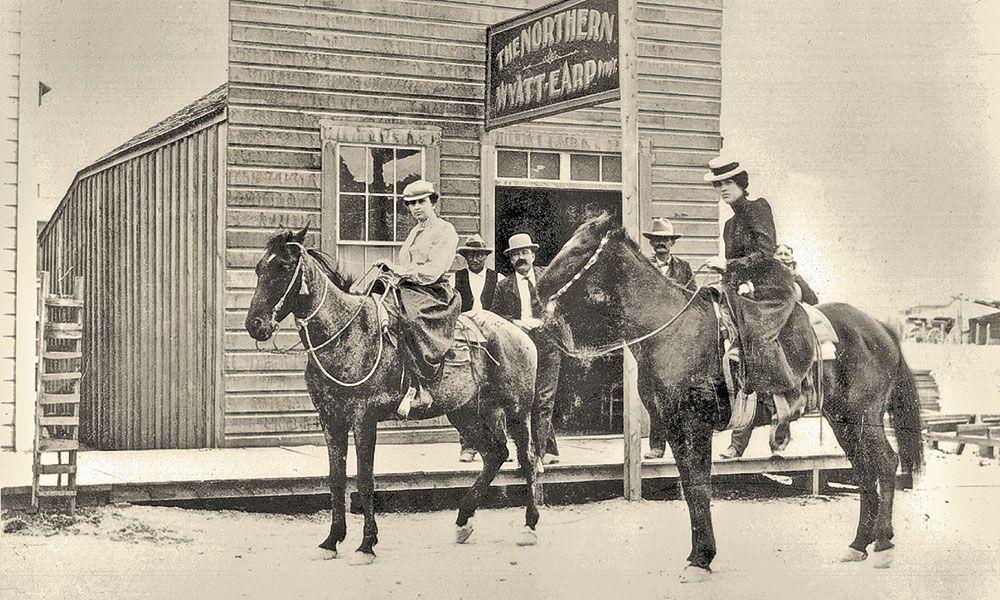 Wyatt Earp Bat Masterson Tex Rickard True West Magazine