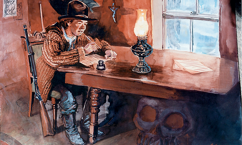 billy the kid painting by bob boze bell